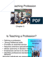 the teaching profession.ppt