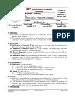 Mpp-Verification of Prescription Orders
