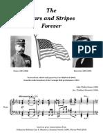 Sousa-Horowitz - Stars and Stripes Forever