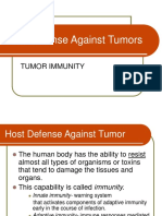 Host Defense Against Tumors