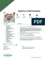 Risoto a Portuguesa