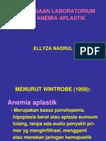 Pemeriksaan Laboratorium Pada Anemia Aplastik