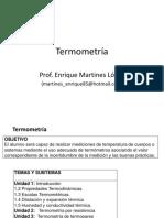 Unidad I Termometría