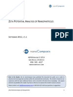 NanoComposix Guidelines for Zeta Potential Analysis of Nanoparticles