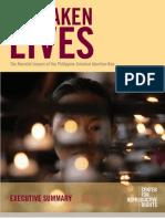Forsaken Lives:The Harmful Impact of the Philippine Criminal Abortion Ban (executive summary)