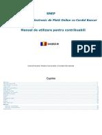Manual de Utilizare - Contribuabili-Ghiseul.ro