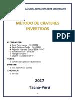 Metodo de Crateres Invertidos