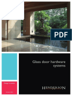 Glass Door Hardware Systems