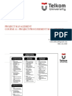 Kuliah 11 Project Procurement Management