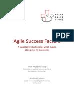Agile Success Factors 2014