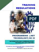 TR - Programming (NET Technology) NC III.doc
