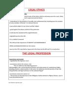 Legal Ethics Final