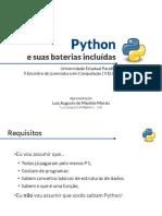 mini curso python