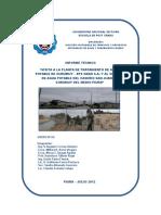 Caratula e Índice Del Informe