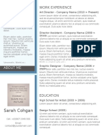 Msc Sample Resume4