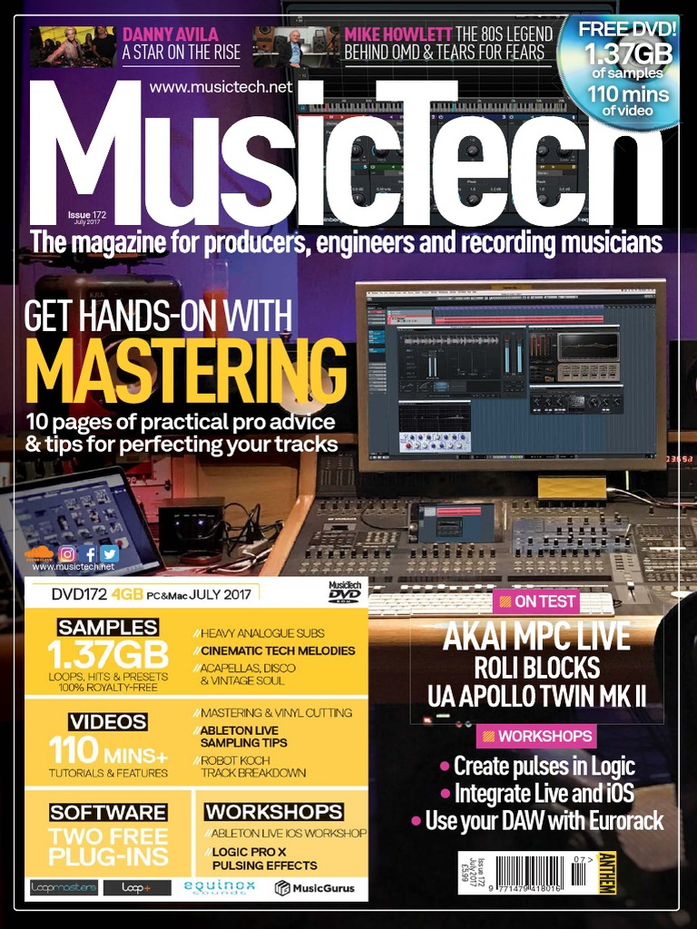 Musictechmag July 2017 Loudspeaker Synthesizer Information Society Vox Treble Booster Electronic Circuit Schematic