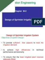 Chapter 3 2 2 Sprinkler Design Lecture AAU 2014