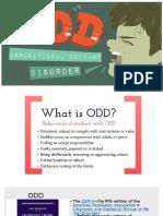 oppositional defiant disorder 1 3
