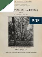 Vine Pruning in California Pt 1. - Frederic T. Bioletti