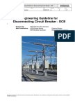 1HVU200001E0001 Engineering Guideline for Disconnecting CB Rev A