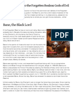 An Introduction to the Forgotten Realms - Gods of Evil
