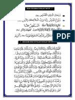 Doa Sesudah Sholat Tarawih Dan Witir