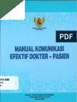 BUKU MANUAL KOMUNIKASI EFEKTIF DOKTER - PASIEN.pdf