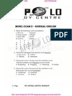 Tnpsc Group2 English Model Exam