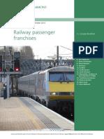 Railway Passenger Franchises
