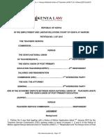KNUT v TSC Nduma J Petition_3_of_2015
