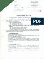 Bourse Tunisie 2017-2018