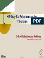 Ley Hippa ( rel con tribunales)