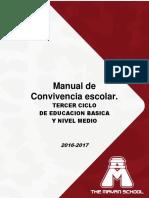 Manual de Convivencia Escolar Nivel Medio