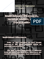 HBO Individual Differences, Mental Ability, And Personality