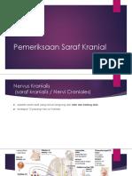 Pemeriksaan Saraf Kranial