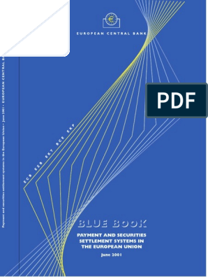 ecbbluebook2001   European Central Bank   Euro
