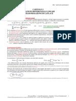 Controlli Automatici I - Marro - Capitolo 2 - Equazioni Differenziali Lineari E Trasformazione Di