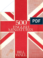 500 English Miniatures by Bill Wall Xxxxx