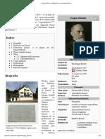 Eugen Bleuler - Wikipedia, La Enciclopedia Libre
