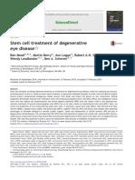 Stem Cell Treatment of Degenerative Eye Disease