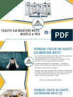 3 Prix pour Chauffe-eau Bradford White - Soumissions Chauffe-eau