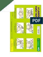 Leaflet Cara Cuci Tangan