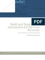 Lean Build and Deployment Automation