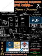 Bases IV Abierto Internacional de Ajedrez Hotel CEMAR