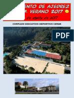 Bases Campamento de Ajedrez Eikm Verano 2017