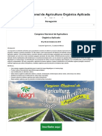 Congreso Nacional de Agricultura Orgánica Aplicada - Inicio _ Intagri S