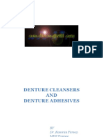 Denture Cleansers