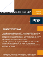 Placas Bloqueadas Tipo LCP