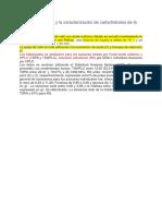 La Hidrólisis Ácida y La Caracterización de Carbohidratos de La Pulpa de Café