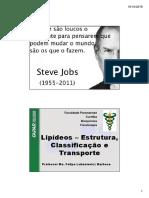 AULA 07 - Lipideos - Estrutura%2c Classificação e Transporte %5bModo de Compatibilidade%5d
